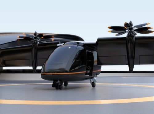 Evtol powerplant propulsion by RED aircraft